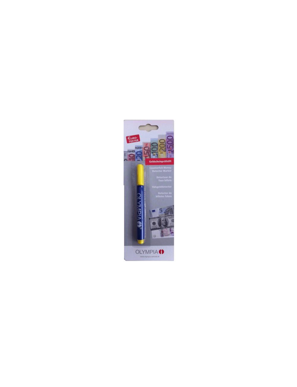 OLYMPIA Στυλό- μαρκαδόρος ανιχνευτής πλαστών χαρτονομισμάτων