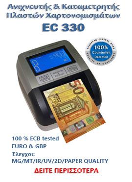 RIBAO BCS160 Μετρητής-Καταμετρητής-Ανιχνευτής Χαρτονομισμάτων