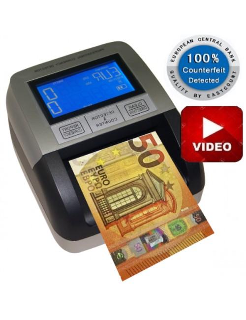Ανιχνευτής & Καταμετρητής Πλαστών Χαρτονομισμάτων ΕC 330 , EURO & GBP
