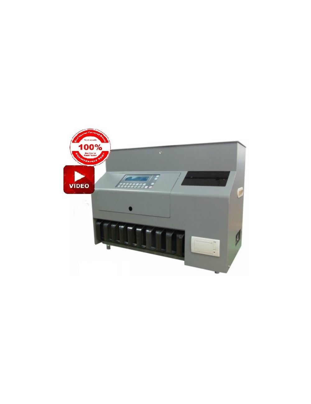Καταμετρητής-Διαχωριστής κερμάτων RIBAO CS 910+