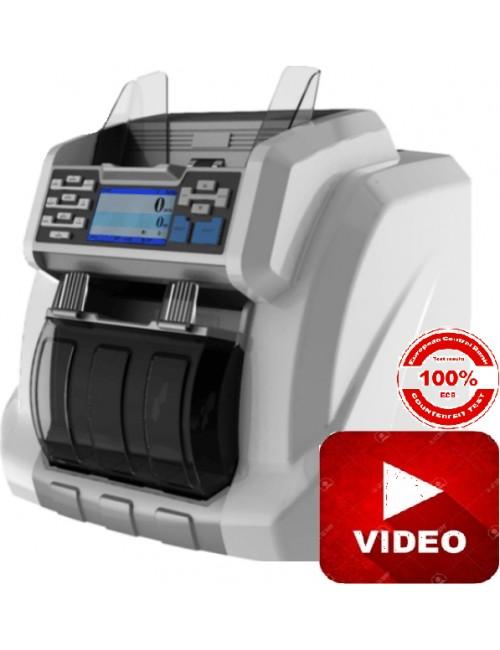 RIBAO BCS 160, 2 Pocket, Μετρητής, Καταμετρητής, Ανιχνευτής Χαρτονομισμάτων EUR, USD, GBP, CHF