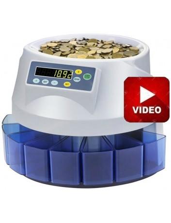 Μετρητής Καταμετρητής & Διαχωριστής Κερμάτων CS 260, Δώρο 2 Στυλό Ανίχνευσης Πλαστών Χαρτονομισμάτων