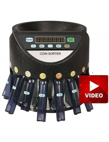Mε EXTRA Πλαστικά TUBES -PCD 270 Μετρητής Καταμετρητής Διαχωριστής Κερμάτων Contact