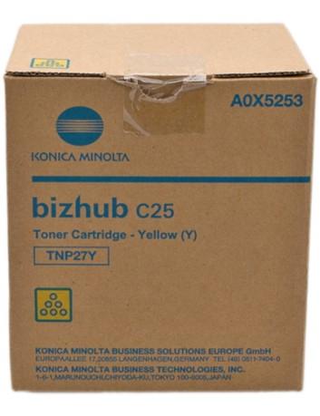Konica Minolta C25 4.5K YELLOW Original Toner A0X5253