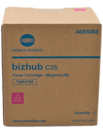 Konica Minolta C25 4.5K MAGENTA Original Toner A0X5353