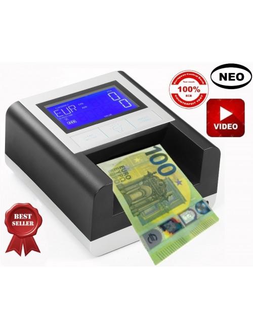 Ανοιγόμενος Ανιχνευτής & Καταμετρητής Πλαστών Χαρτονομισμάτων ΕC 500 / SD με extra UV light